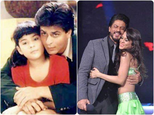 Shahrukh Khan and Sana Saeed who played young Anjali in ...Shahrukh Khan Daughter In Kuch Kuch Hota Hai