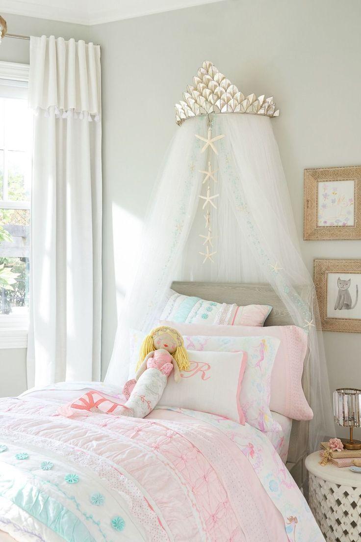 Capiz Cornice & Glitter Tulle Sheers Çocuk Odası