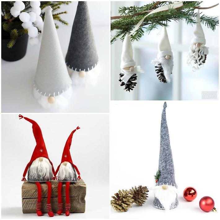 5 tutoriales para hacer gnomos escandinavos esta Navidad | Navidad ...