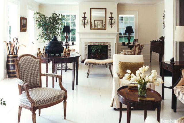 Traditional Style Rooms - Traditional Decorating Ideas white