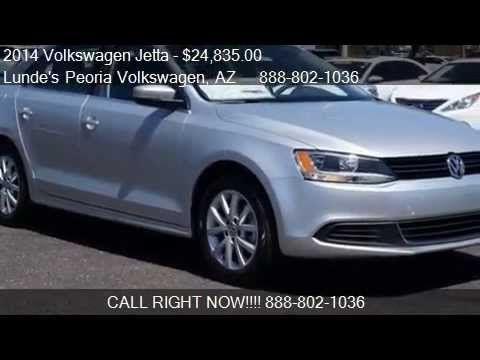 Phoenix Volkswagen Dealer | 2014 Volkswagen Jetta SE PZEV for sale in Phoenix, AZ 85382 www.peoriavw.com #vw #newcarspecial