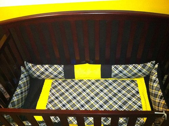 Bruin Themed Baby Bedding By Kelseysboutique On Etsy, $264