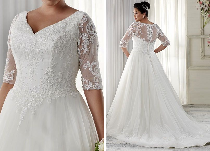Plus Size Wedding Dresses By Bonny Bridal | The Unforgettable ...