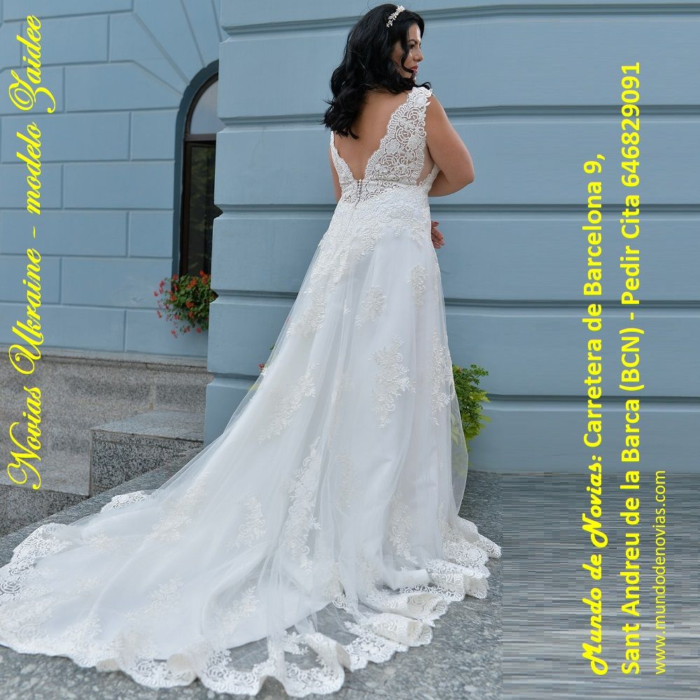 """Atelier """"Mundo de Novias"""" – Modelo Zaidee – Este exclusivo y ..."""