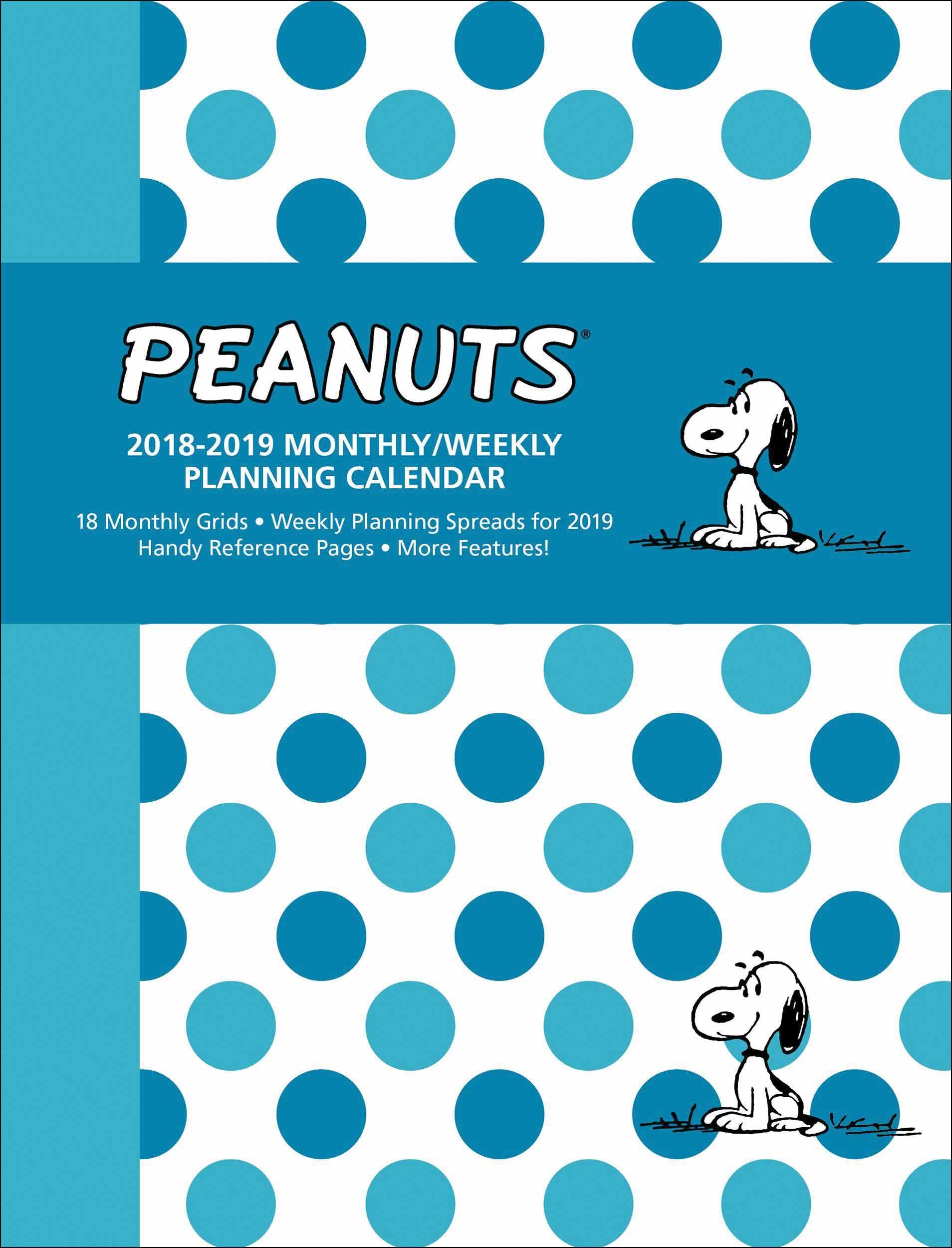 Peanuts A5 Diary 2019 Calendar Club UK Planning