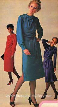 slim dinner dress 1979  80's the good ole' dayz