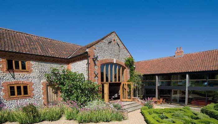 Chaucer Barn - Stylish Self Catering in Norfolk   Barn ...