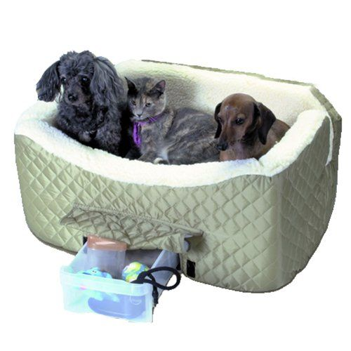Snoozer Lookout II Pet Car Seat Large II Khaki >>> See this great product. (This is an affiliate link)