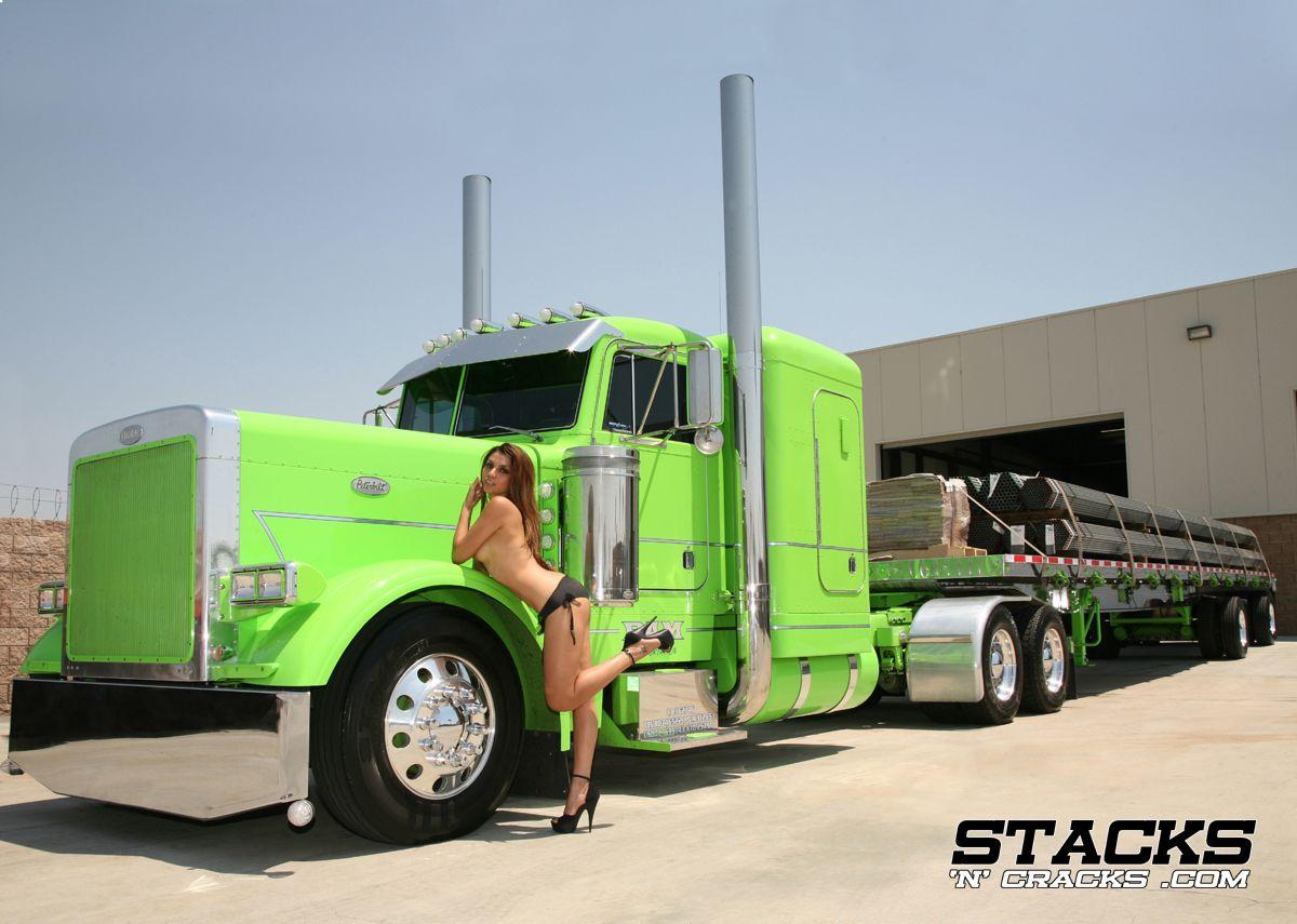 nude girl in truck