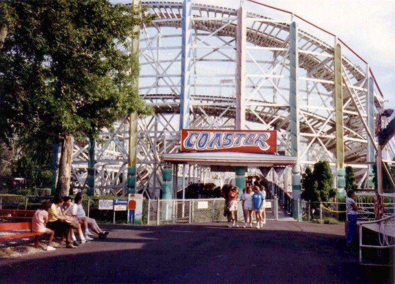 The Lincoln Park Comet Lincoln Park Fall River Massachusetts Abandoned Amusement Parks