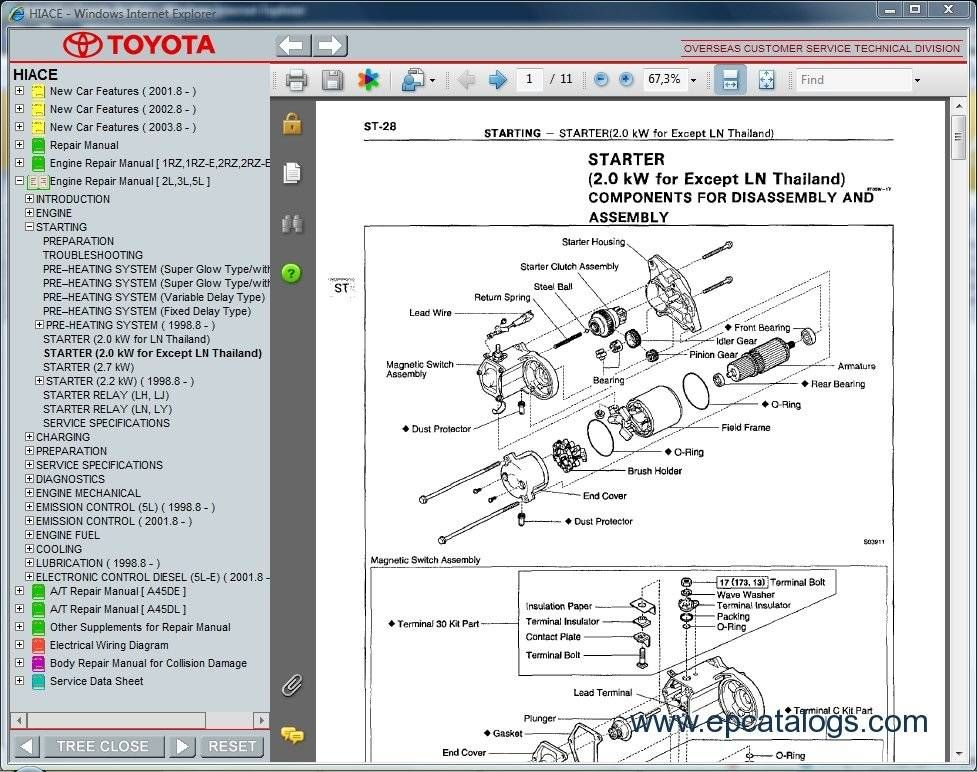 free toyota hiace workshop manual 6 granvia pinterest toyota rh pinterest com toyota hiace repair manual pdf toyota hiace service manual pdf