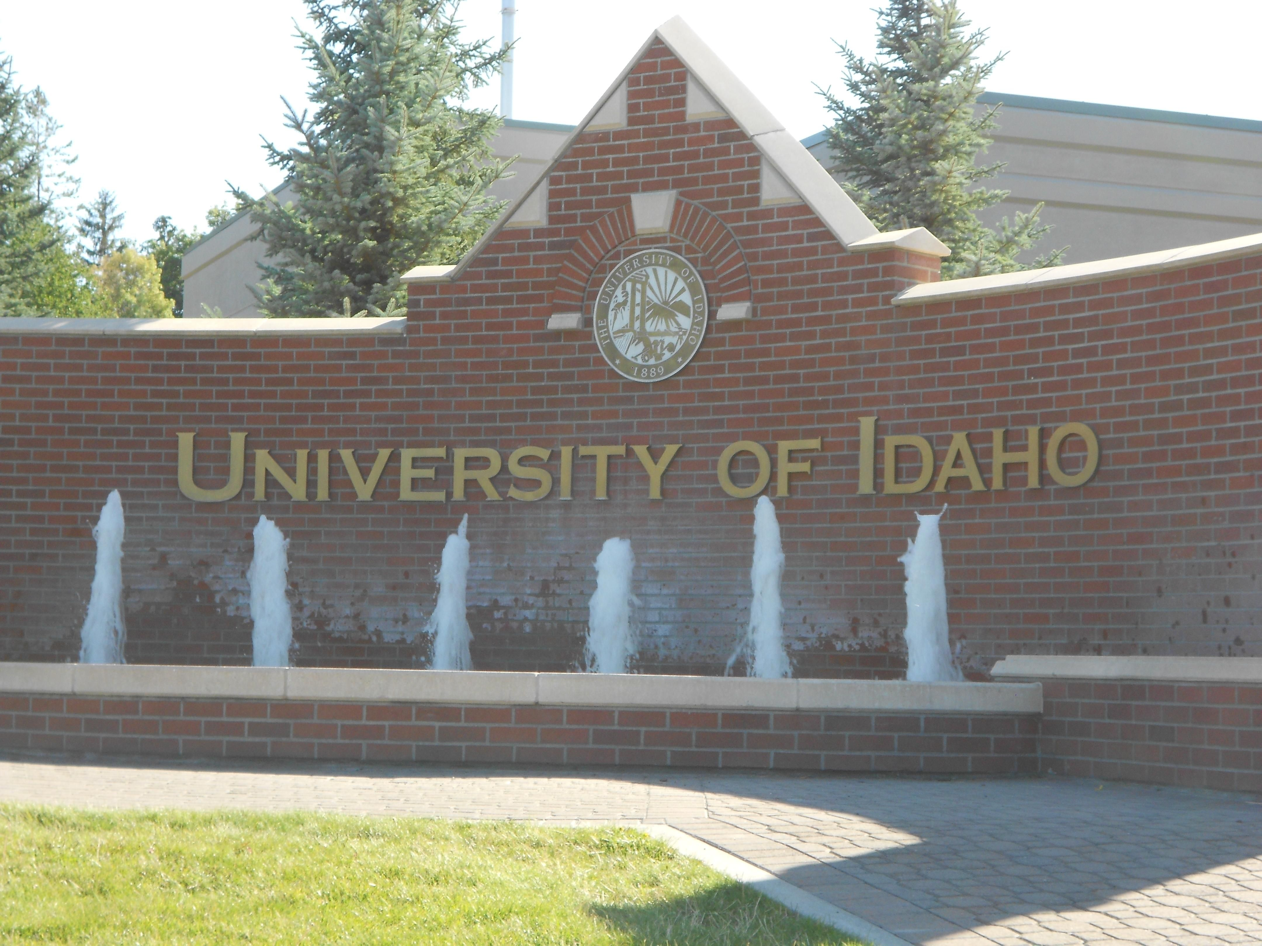 Idaho Vandals Entrance
