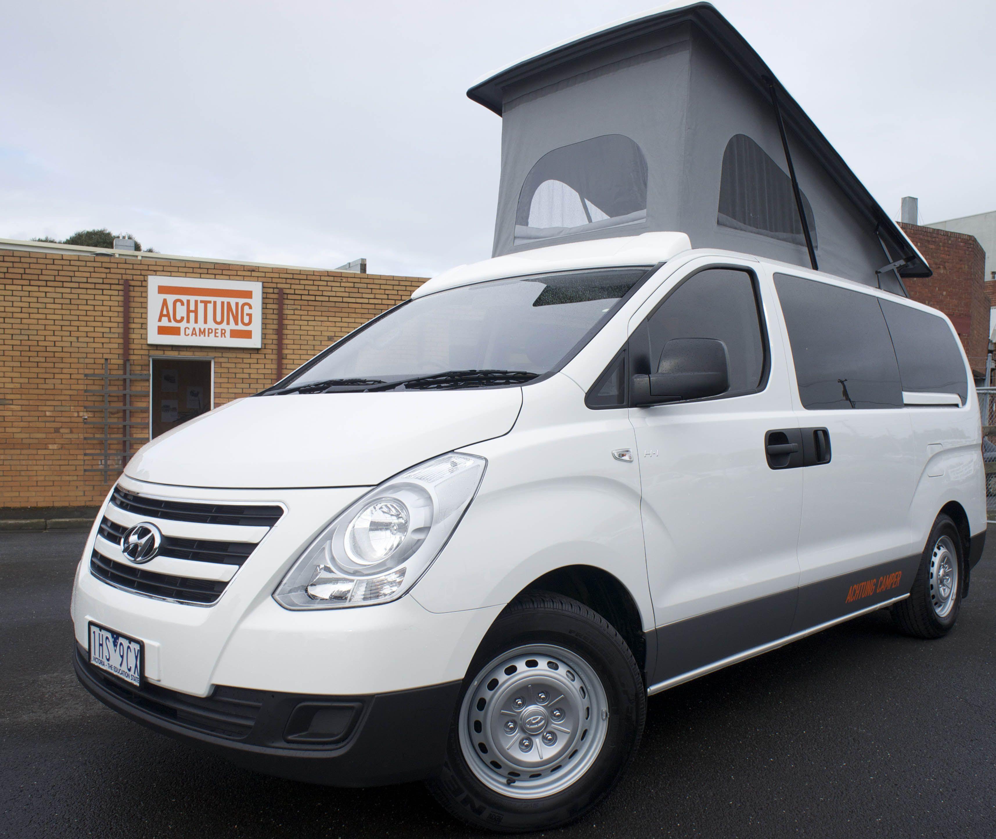 Our latest Hyundai campervan conversion.  Kastenwagen in