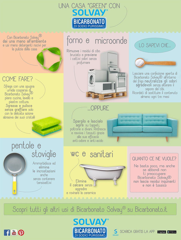 """Consigli Per La Casa una casa """"green"""" con bicarbonato solvay   faccende"""