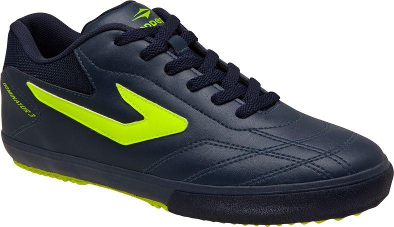 7c83ec8e471 Tênis Topper Futsal Dominator III Adulto Marinho e Verde