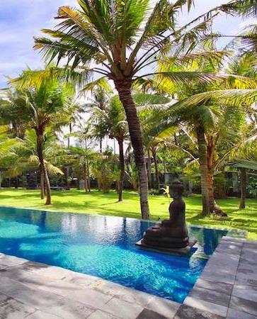 Villa Valentine Bali Indonesia Www Beyondvillas Com Pool Landscaping Bali Garden Tropical Garden