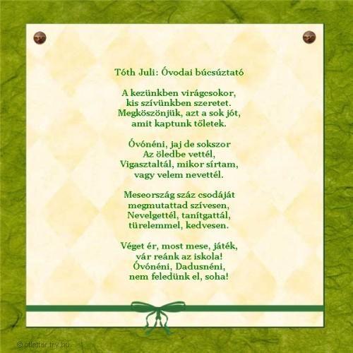 ballagási idézetek ovisoknak Pin by Csere Maria on Versek, mesék gyerekeknek | Cross stitch