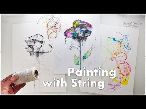 Bubble Wrap Painting Technique For Kids Easy Coloring Trees Creative Fun Art Projects Youtube Cool Art Projects Painting Tutorial Flower Painting