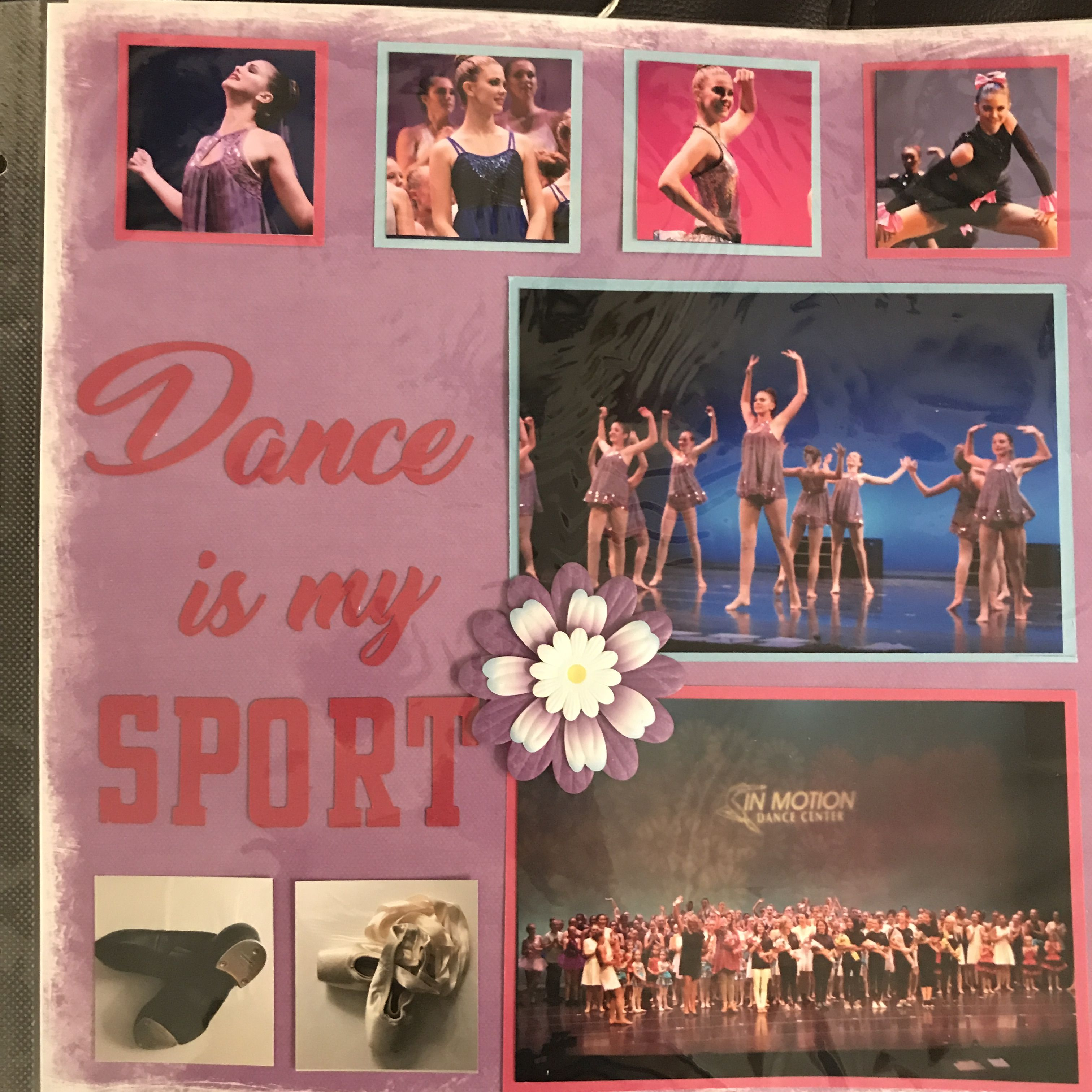 dance scrapbook page scrapbook layout can also be used for vacation