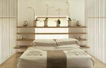 Le style zen entre puret et l gance m6 chambres invit s zen home decor et bed - Peinture chambre parents ...