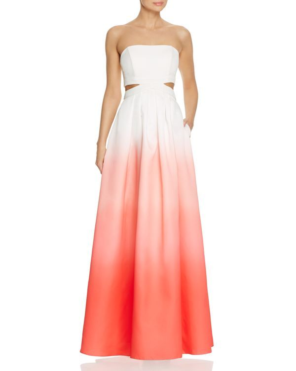 a0eb086452 Decode 1.8 Ombre Cutout Gown