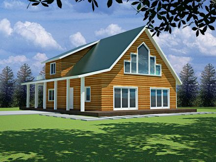 cabin plans with attached garage mountain rustic style house saltbox