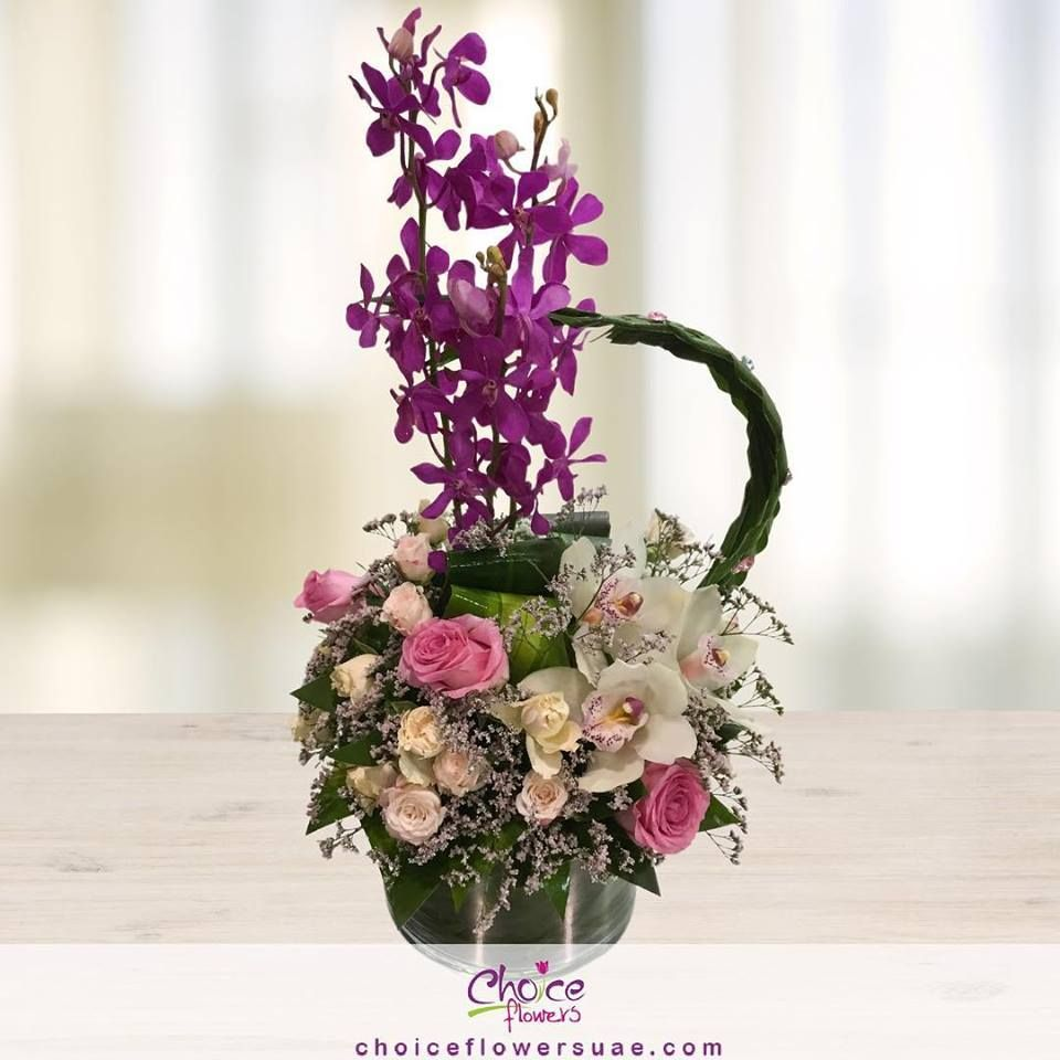 Order Now Www Choiceflowersuae Com Flowers Gifts Customisedgifts Orchid Orchidflower Vi Online Flower Shop Flower Delivery Anniversary Flowers