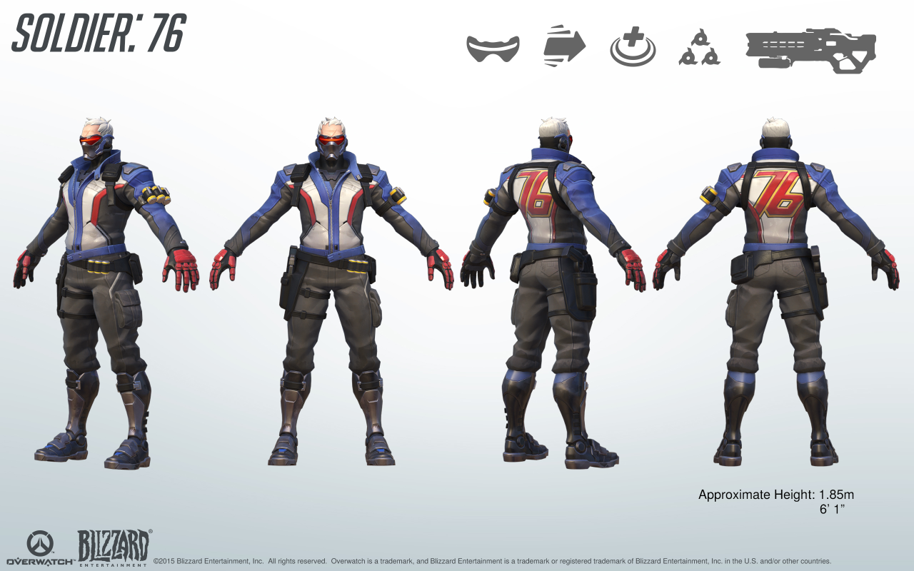 F Yeah Album Of Stuff I Like Overwroughtfan Finally Getting The Soldier 76 Soldier 76 Overwatch Overwatch Costume