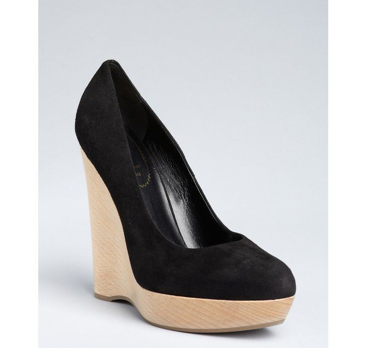 64c6b9660c7a Yves Saint Laurent Wedge...who doesn t love YSL !