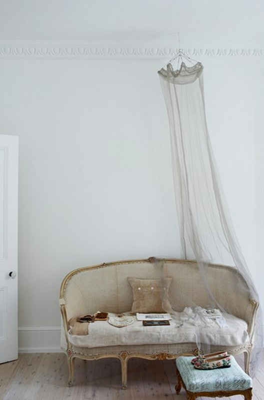 A Powdery Hued Haven For The HomeDecorating IdeasDecor IdeasInterior Decorating StylesVintage SofaFrench
