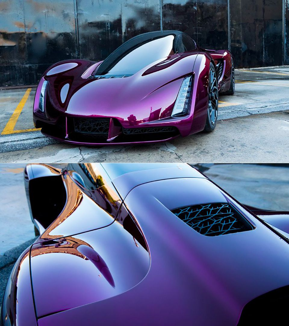 Up Close Look At The World S First 3d Printed Supercar Futuristic Cars Design Super Cars Futuristic Cars