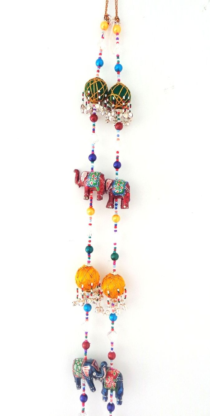 Indian home Decor Handicraft - Elephant theme Wall Hanging - Diwali ...