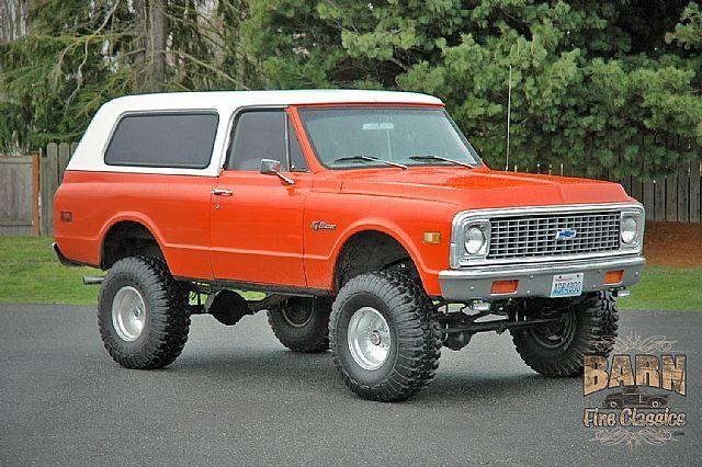 1971 Chevrolet K5 Blazer For Sale Mount Vernon Washington K5