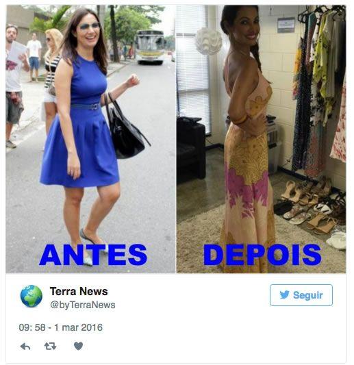 Patrícia Poeta choca ao aparecer 10 kg mais magra: antes e depois é impressionante - Corpo a Corpo