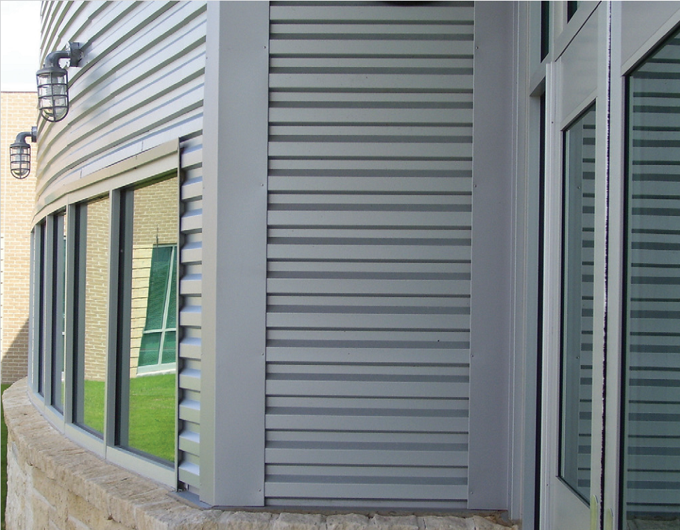 Metal Panels For Walls wave wall panels | architectural building components | pfc