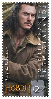 'Hobbit: Desolation of Smaug' characters featured on stamps, coins