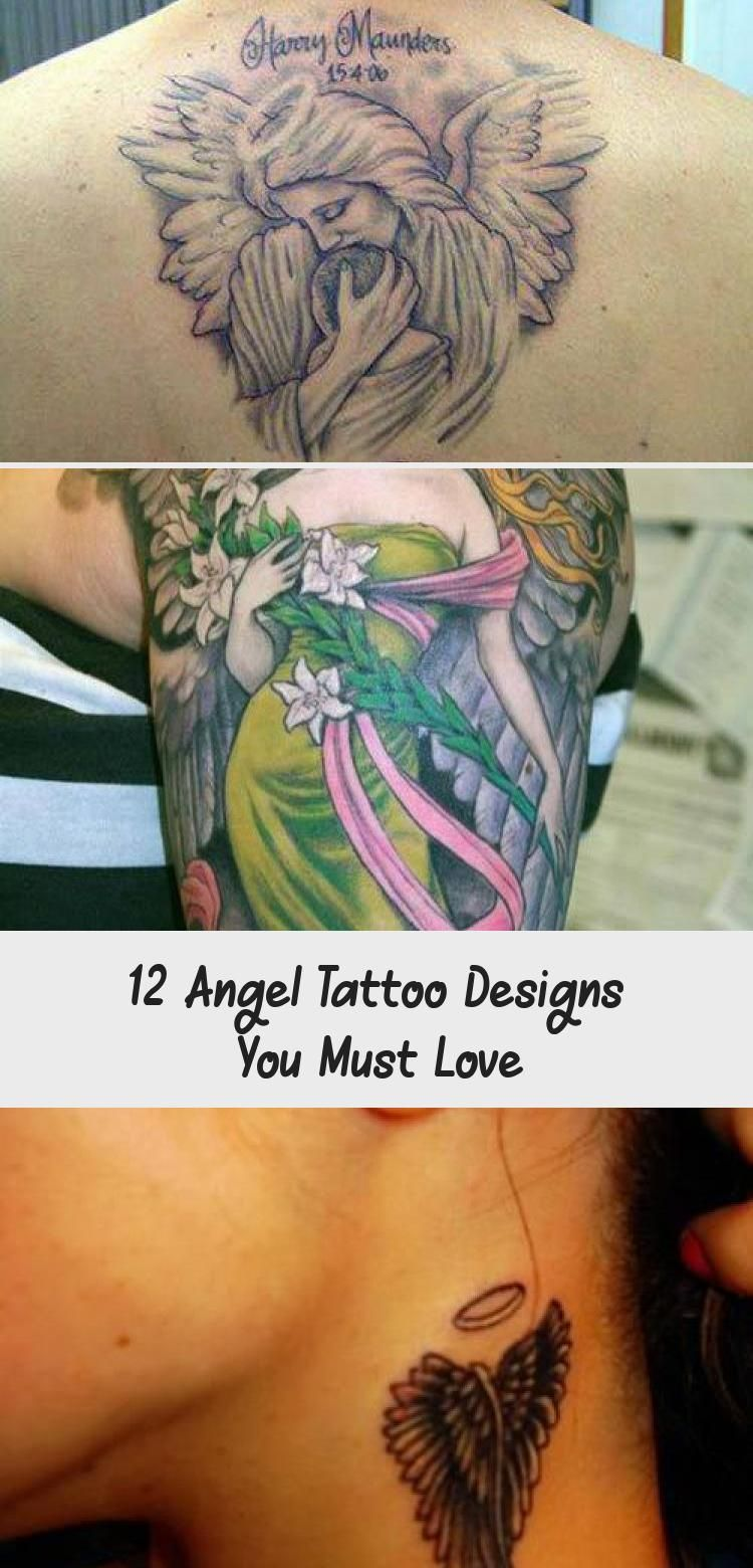 Cute angel satan coronary heart tattoo.... >> See more at