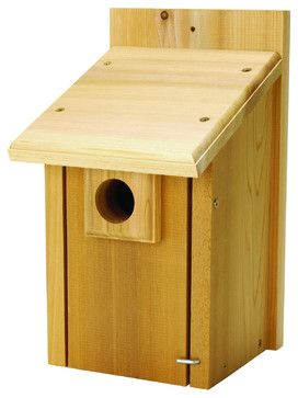 Bluebird House modern-birdhouses