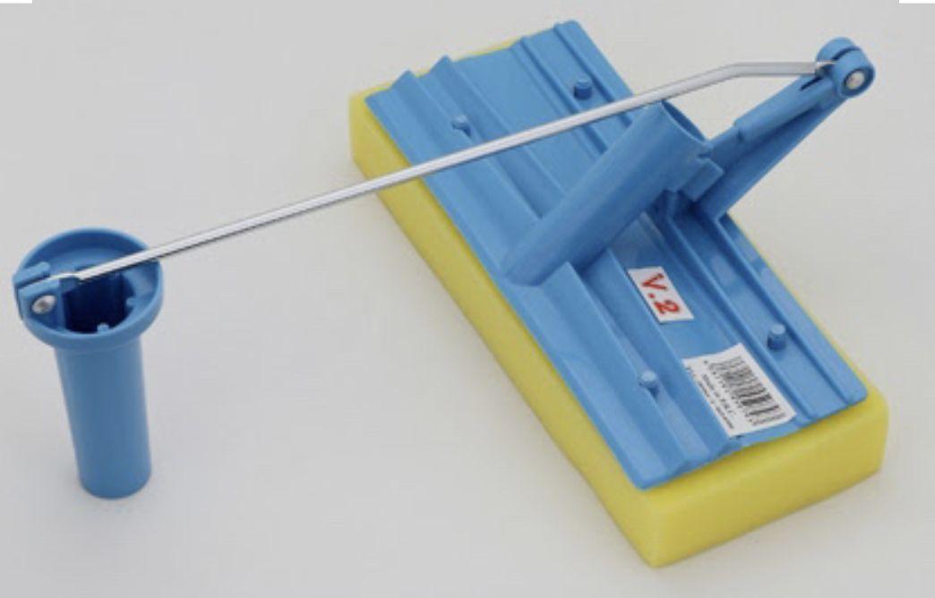مساحة اسفنج مع العصارة بالعصا تمه تمه قروب عروض ادوات تنظيف مساحات Brushing Teeth Swiffer Holder