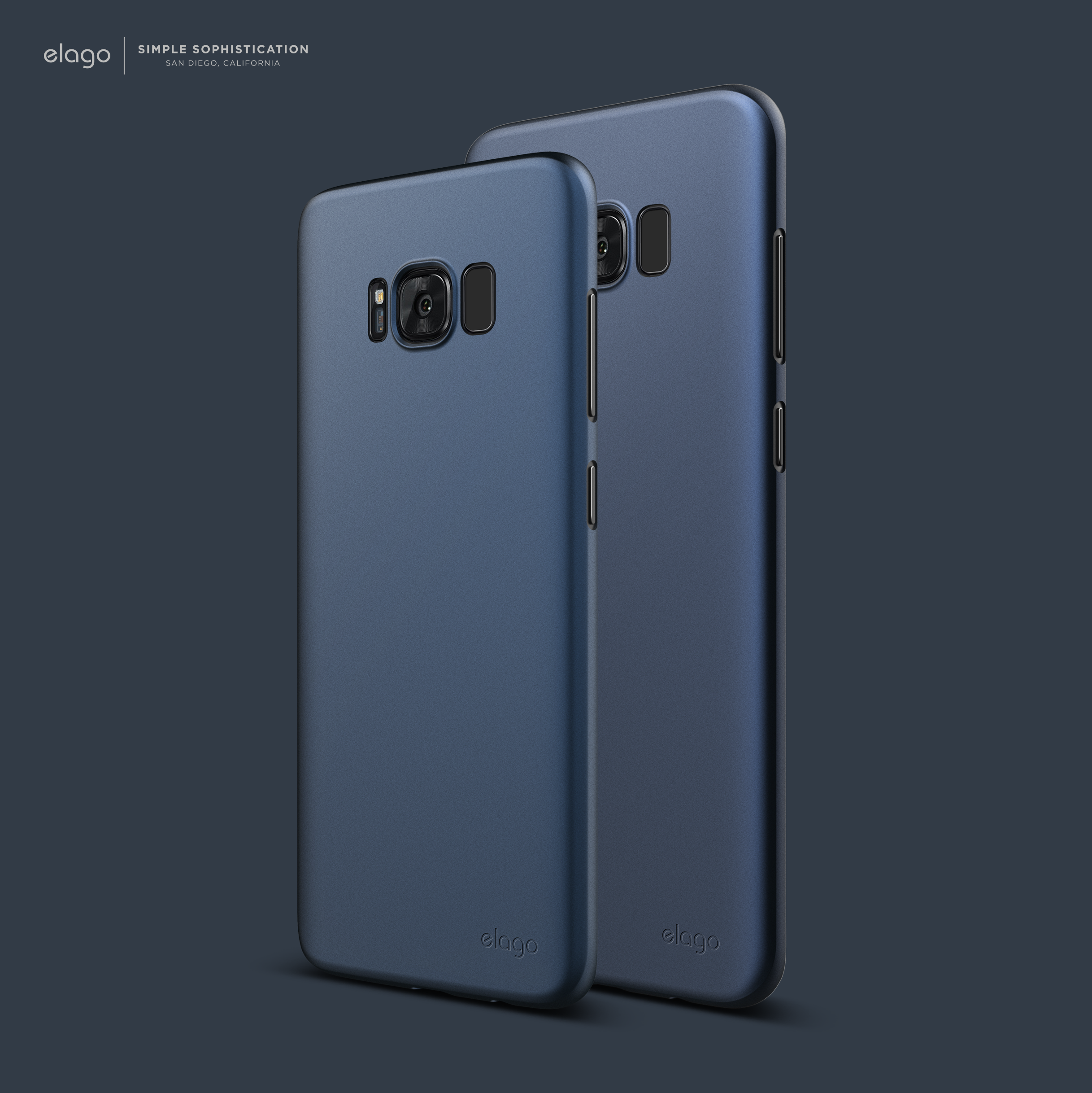 sports shoes 2faeb 0b999 elago Galaxy S8 / Galaxy S8 Plus Origin Case - Jean Indigo. | CASE ...
