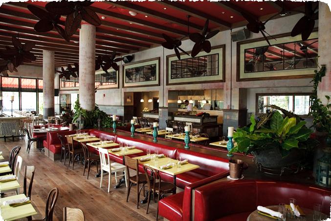SUGARCANE raw bar grill Miami, FL. Designed by CetraRuddy