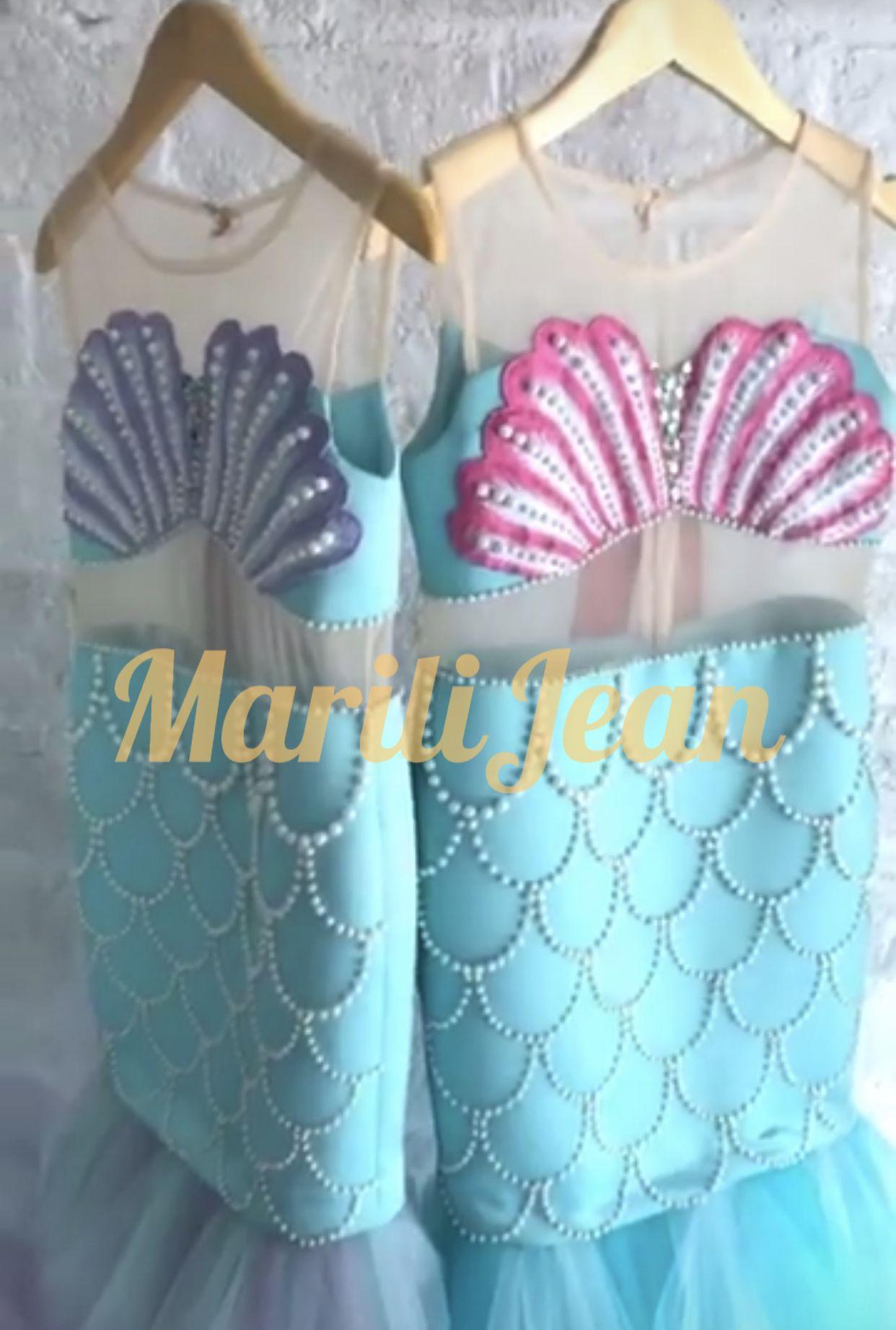Under The Sea Mermaid Birthday Party Dress Idea Coming