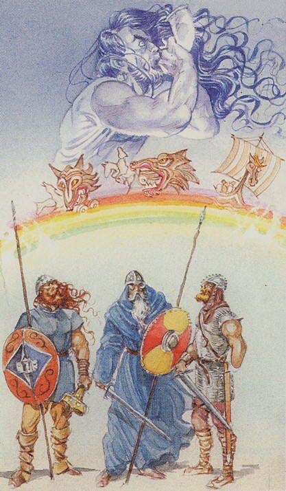 Judgement (Ragnarök) - Vikings Tarot