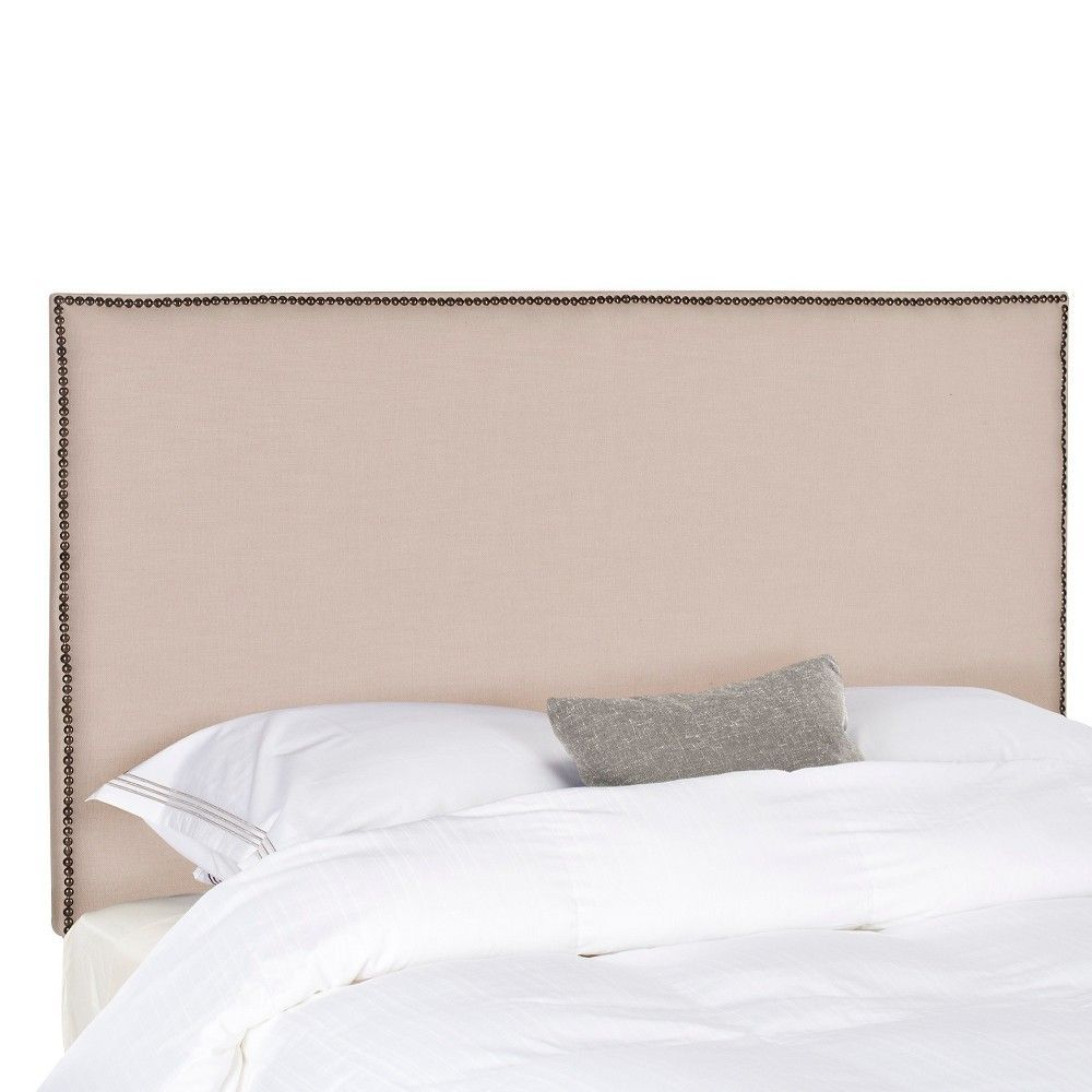 Headboard Tan King - Safavieh, Brown