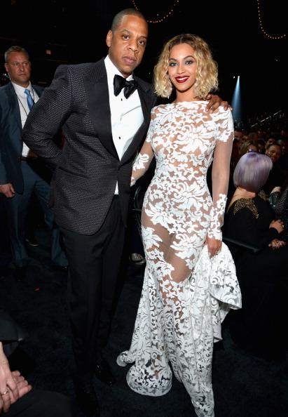 The Grammys 2014 #BeyonceAtGrammys #JayonceAtGrammys