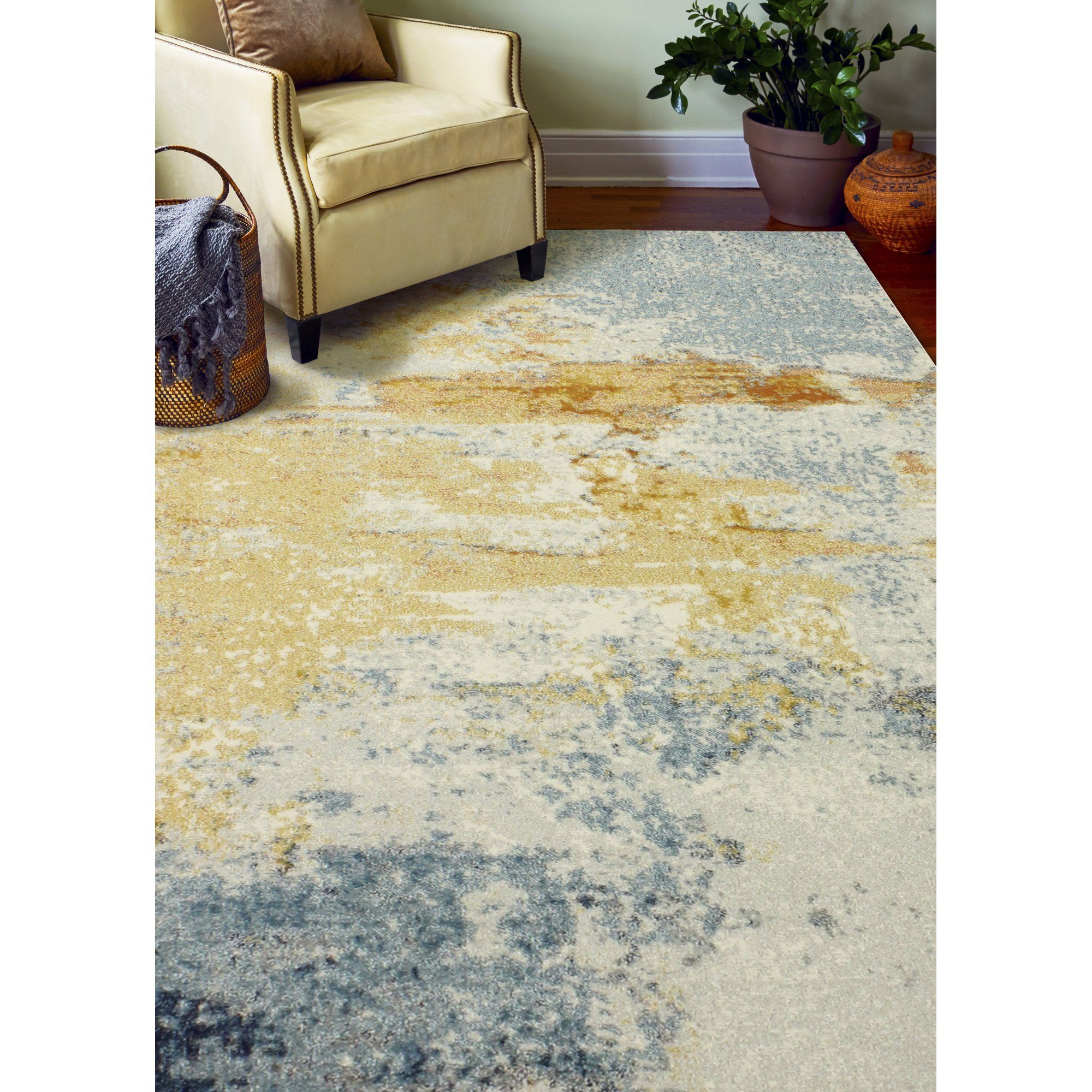 living rooms with blue area rugs tiny room fireplace and tv heilman rug yellow ivory