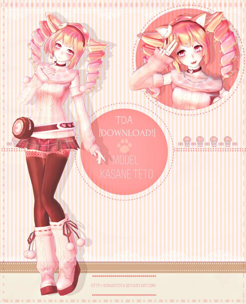 MMD- Tda Winter Teto [DOWNLOADS!] by KiraKoToVa | mmd
