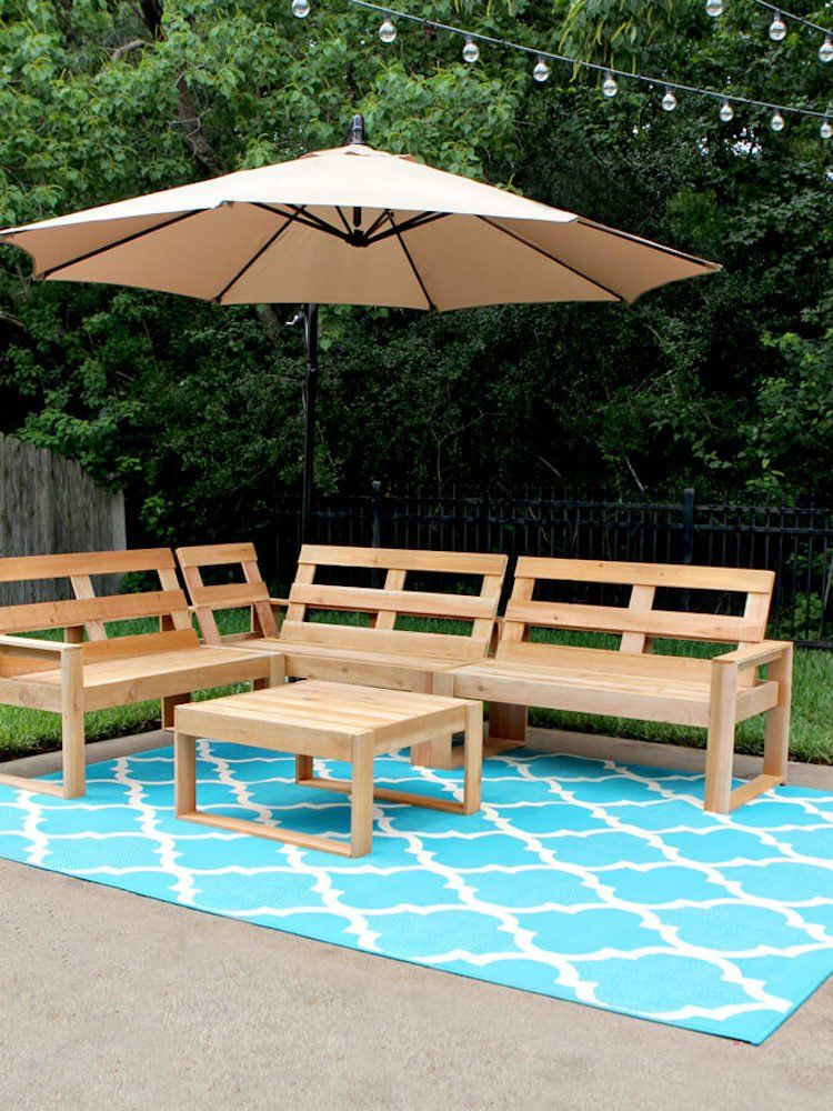 15 Doable Designs for DIY Outdoor Furniture | DIY Projects: Bob ...