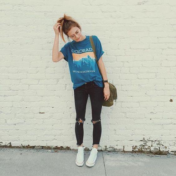 15 besten Sommer Outfit für Jugendliche müssen Sie haben #wintergrunge