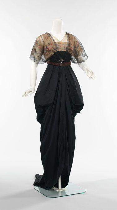 """Les Fées Tisseuses :: Robe """"Downton style""""/Art Nouveau pour la vraie vie #Frede..."""